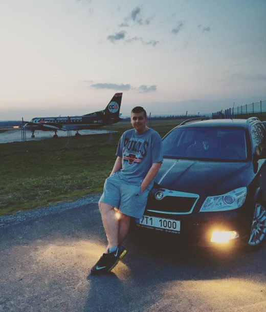 #letiste #airport #Ostrava #mosnov #car #airplane #octavia #laurinklement #my #n...