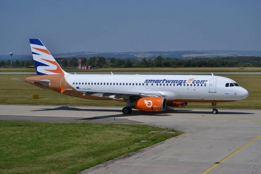 Airbus A320-232 SX-ORG Travel Service (Smartwings) #airport #ostravaairport #air...