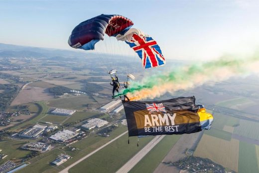 How do you ensure your publicity, when you have a flying display at a public eve...