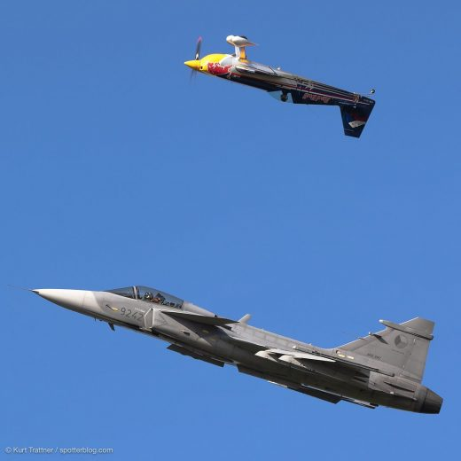 One of the best displays I have ever seen on an Airshow. @martinsonka with his E...
