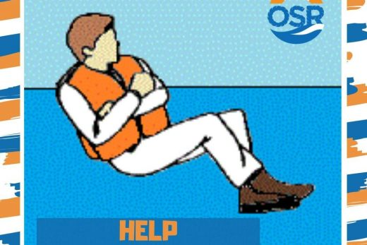 Heat Escape Lessening Position  When you are alone, this position protects the b...