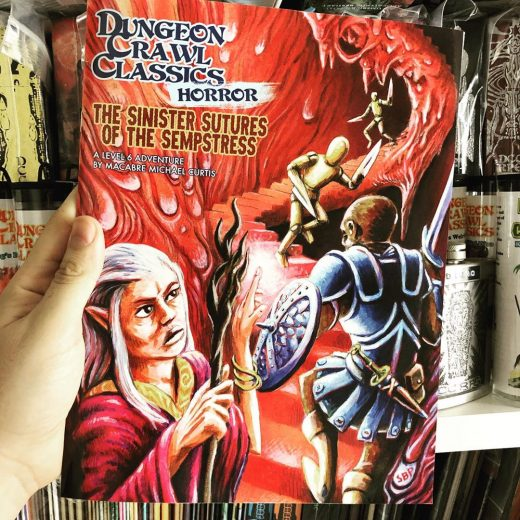 #DungeonCrawlClassics #Horror is a new line of adventures focusing on... well, h...