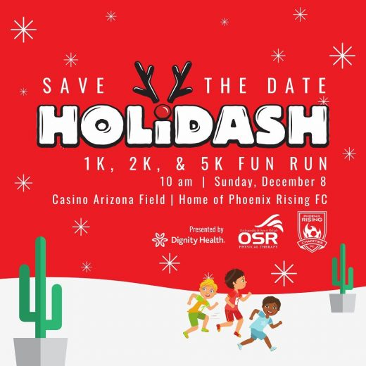 SAVE THE DATE!  •  The HOLIDASH is coming!  Mark your calendars! •  Sunday Dece...