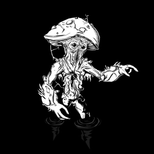 OSR D&D fungus man thing. I'm going to try and grow one of these in the green ho...