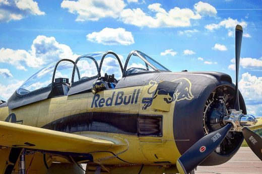 North American T-28 Trojan  Flying Bulls / Aviatická Pouť 2018 #T28 #t28trojan #...