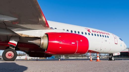 Rossiya Boeing 737-8LJ(WL) VP-BOH Grounded after lightning strike 2/2020...